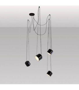Piekarama lampa PACO Black 26850/4TNM