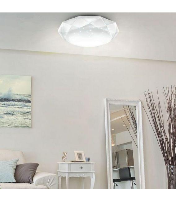 Lubinis šviestuvas CRYSTALLIZE Ø52