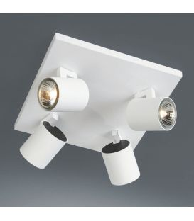 Griestu lampa RUNNER 4 White 53094/31/12