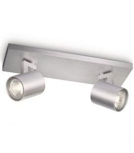 Griestu lampa RUNNER 2 Aluminium 53092/48/12