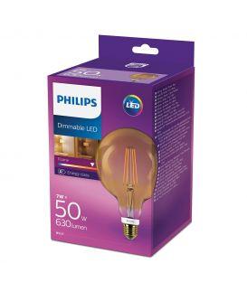 7W LED Spuldze E27 GLOBE Dimmējama 8718699782511