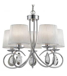 Piekarama lampa ANGELIQUE 5 1025-5CC