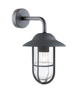 Sienas lampa WELL GLASS LANTERNS Black IP44 3291BK