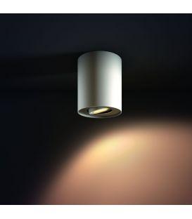 Griestu lampa PILLAR HUE White + slēdzis 871869615930