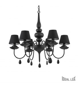 Piekarama lampa BLANCHE SP6 Nero 111872