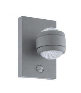 Sienas lampa SESIMBA 1 LED Silver IP44 96019