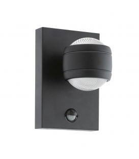 Sienas lampa SESIMBA 1 LED Black IP44 96021