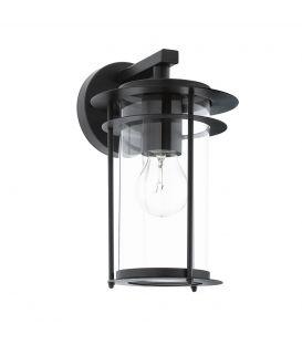 Sienas lampa VALDEO Black IP44 96239