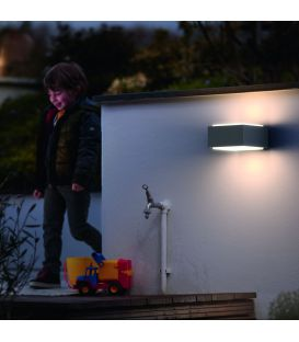 Sienas lampa HEDGEHOG Anthracite IP44