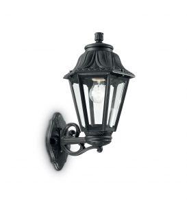 Sienas lampa ANNA AP1 BIG Black IP44 101491