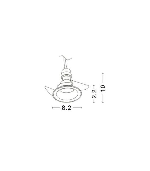 Iebūvējama lampa COMFORT C0160