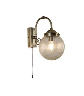 Sienas lampa BELVUE Antique Brass IP44 3259AB