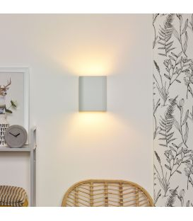 Sienas lampa OVALIS White 12219/02/31