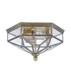 Griestu gaismeklis ZEIL Bronze IP43 H356-CL-03-BZ