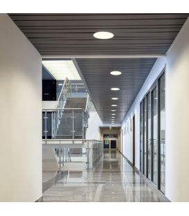 Iebūvējams LED panelis FUEVA 1 10,9W IP44 Ø17 3000K 96165