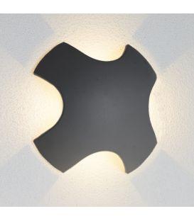 Sienas gaismeklis LED OUTDOOR 8W 4000K IP44 0903GY