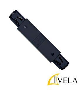 LKM vadotne, taisnais savienojums Black 7653-10-W30