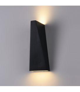 Sienas gaismeklis TIMES SQUARE LED Trapeze 6W Black O580WL-L6B