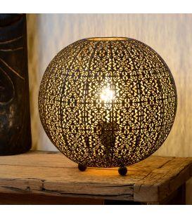 Table Lamp TAHAR Ø33 Juoda