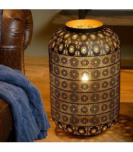 Table Lamp TAHAR Ø39 Juoda