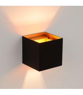 Sienas gaismeklis XIO Black Square 09217/04/30