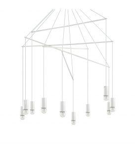 Pakarināmais gaismeklis POP SP10 Bianco 186801