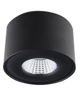 5W LED Griestu gaismeklis Lamparas Black Ø9 LC1400-BK