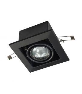 Iebūvējams gaismeklis METAL MODERN Black DL008-2-01-B