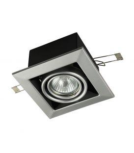 Iebūvējams gaismeklis METAL MODERN Grey DL008-2-01-S
