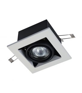 Iebūvējams gaismeklis METAL MODERN White DL008-2-01-W