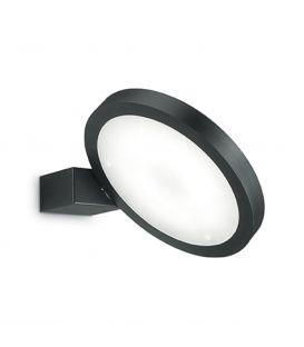 15W LED Sienas gaismeklis FLAP AP1 ROUND Black 155401