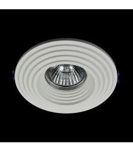Iebūvējams gaismeklis GYPS MODERN Round DL004-1-01-W