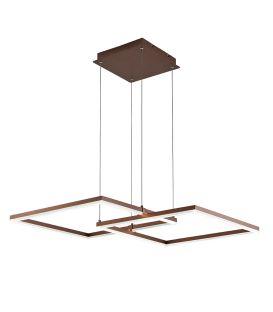 50W LED Piekarama lampa LINUS Brown 4173600