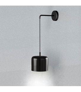 Sienas lampa POT Black 25916/20NB