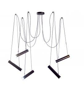 Piekarama lampa PEPO Black 27870/5T