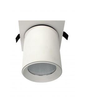 Iebūvējams gaismeklis Lamparas White NC2156-GU10