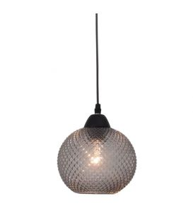 Piekarama lampa PORTO 1 Dark Grey Glass 8103993
