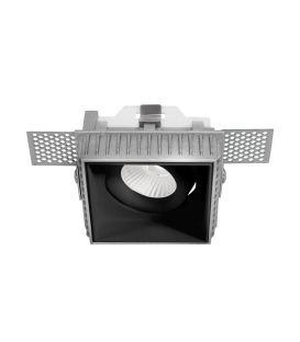 Iebūvējamā lampa BRAD Square Black 9000352