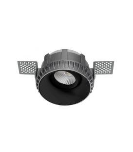 Iebūvējamā lampa BRAD Round Black Ø8.1 9017392