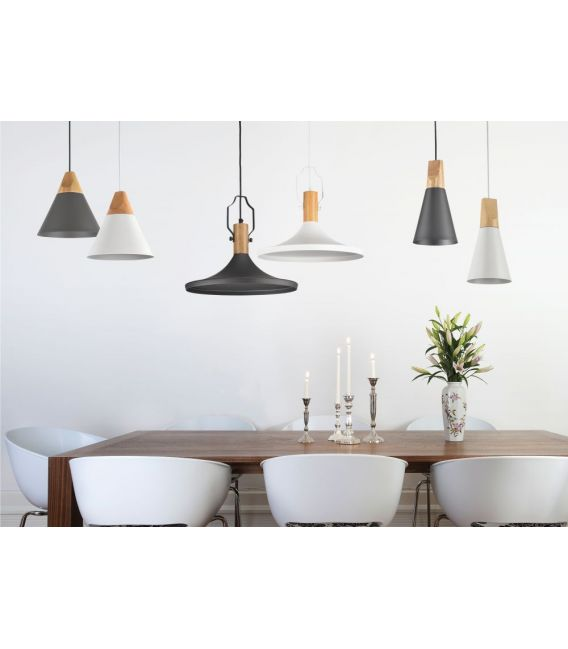 Piekarama lampa BICONES Ø22 White MOD359-01-W