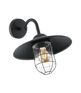 Sienas lampa MELGOA Black IP44 94792