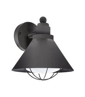 Sienas lampa BARROSELA Black 94805