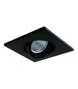 Iebūvējamā lampa NC AROS Black NC1860SQ-FBK YLD-021383