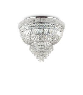 Griestu lampa DUBAI PL6 Chromo 207186