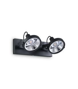 Sienas lampa GLIM 2 Black 200248