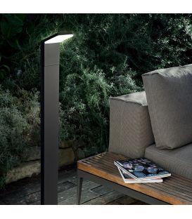 9W LED Sieninis šviestuvas STYLE Anthracite IP54 209845
