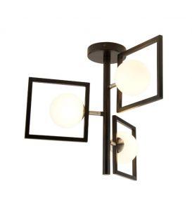Griestu lampa ROSEWELL 4833-3BK