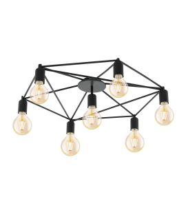 Griestu lampa STAITI Black 97904