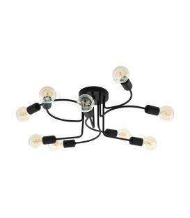 Griestu lampa ORAZIO 9 Black 97983