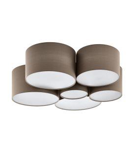 Griestu lampa PASTORE 1 Taupe 98409